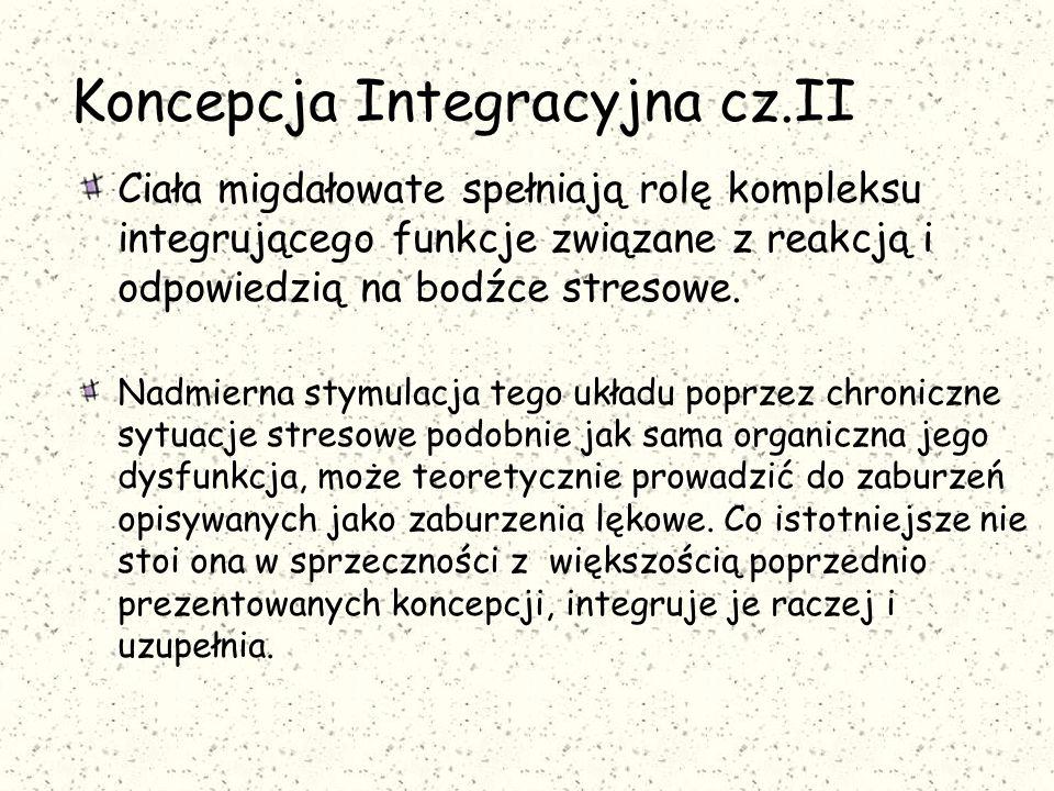 Koncepcja Integracyjna cz.II