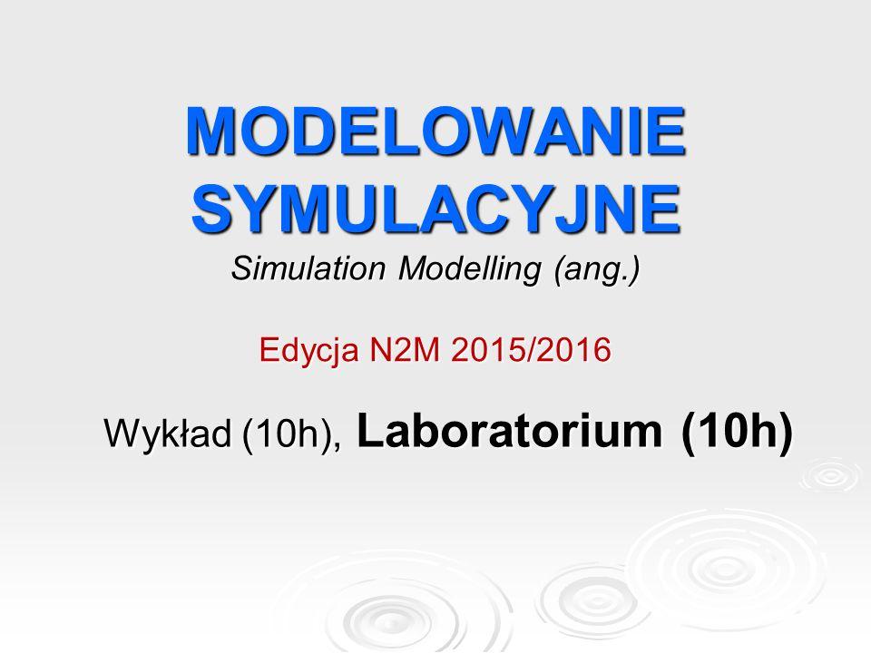 Wykład (10h), Laboratorium (10h)