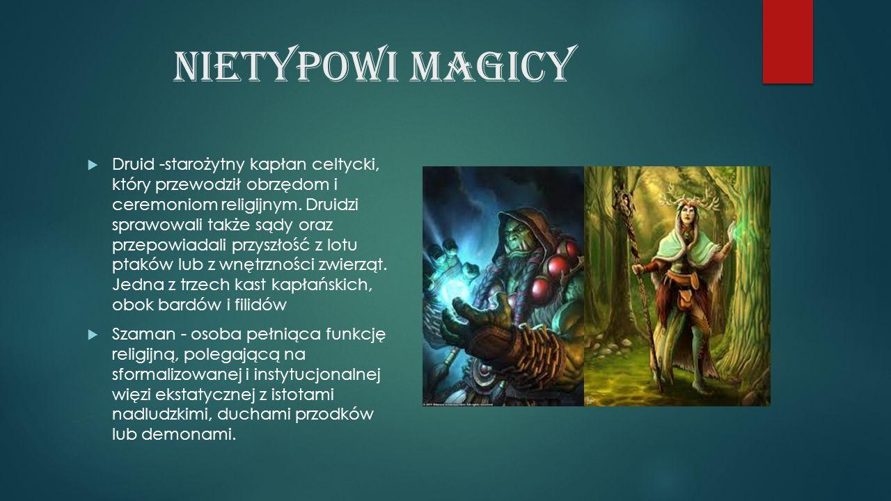 Nietypowi magicy