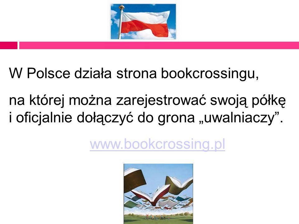 W Polsce działa strona bookcrossingu,