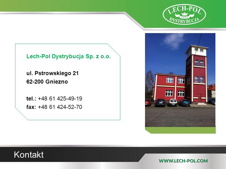 Kontakt Lech-Pol Dystrybucja Sp. z o.o. ul. Pstrowskiego 21