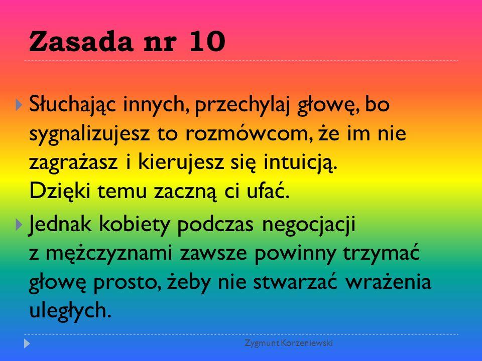 Zasada nr 10