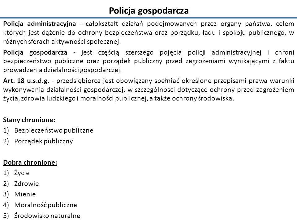 Policja gospodarcza