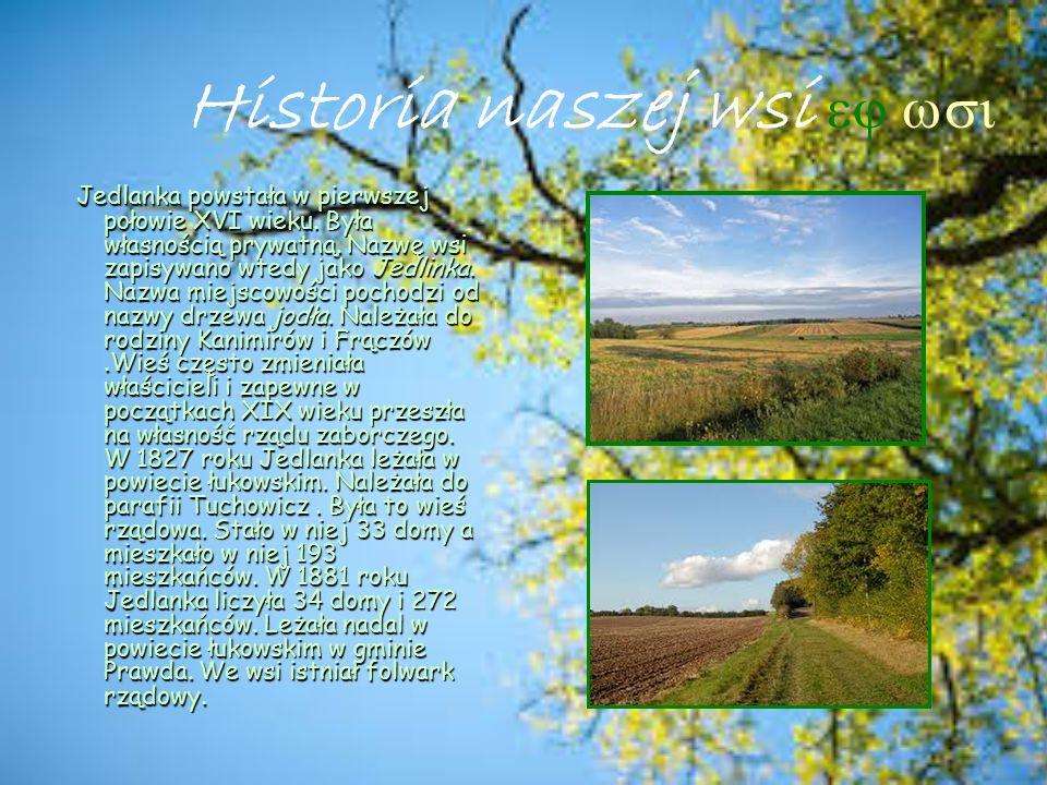 Historia naszej wsi ej wsi