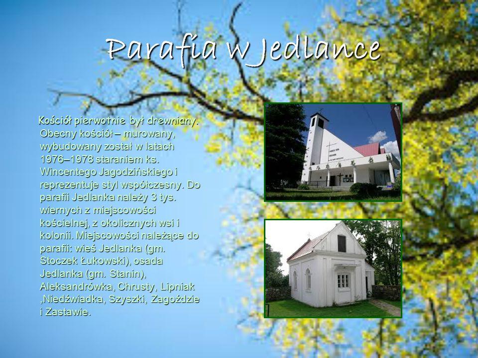 Parafia w Jedlance