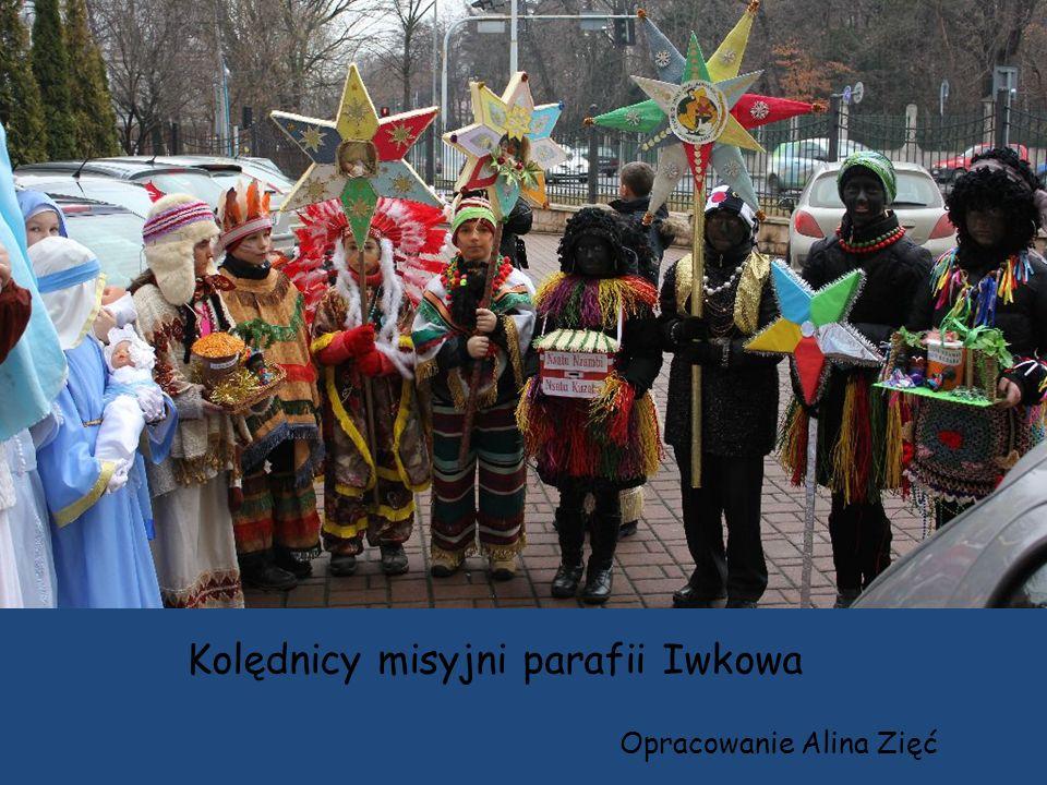 Kolędnicy misyjni parafii Iwkowa