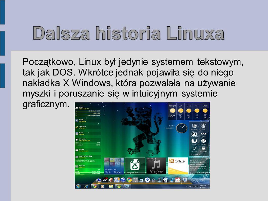 Dalsza historia Linuxa