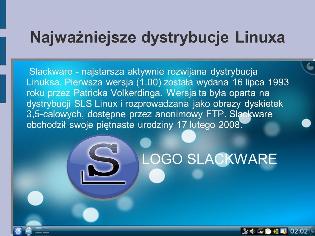 Najważniejsze dystrybucje Linuxa