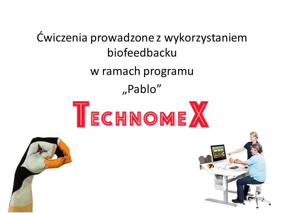 """Ćwiczenia prowadzone z wykorzystaniem biofeedbacku w ramach programu """"Pablo"""