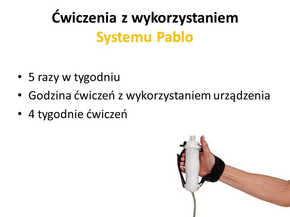 Ćwiczenia z wykorzystaniem Systemu Pablo