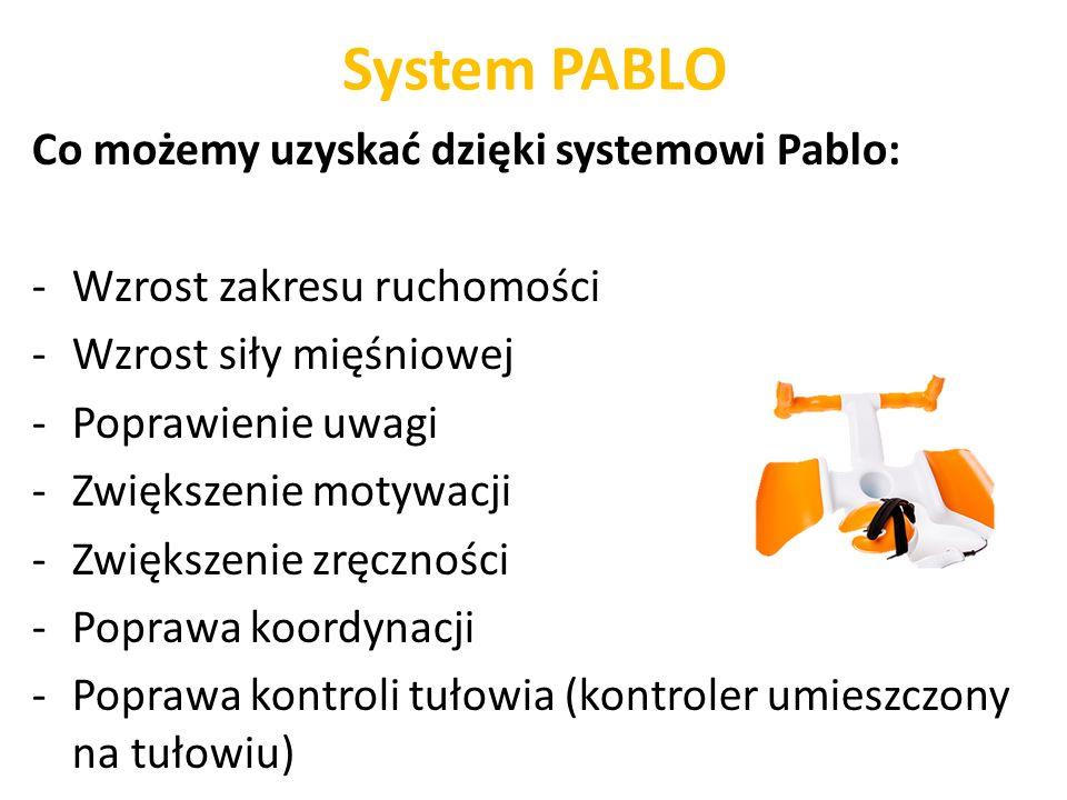 System PABLO Co możemy uzyskać dzięki systemowi Pablo: