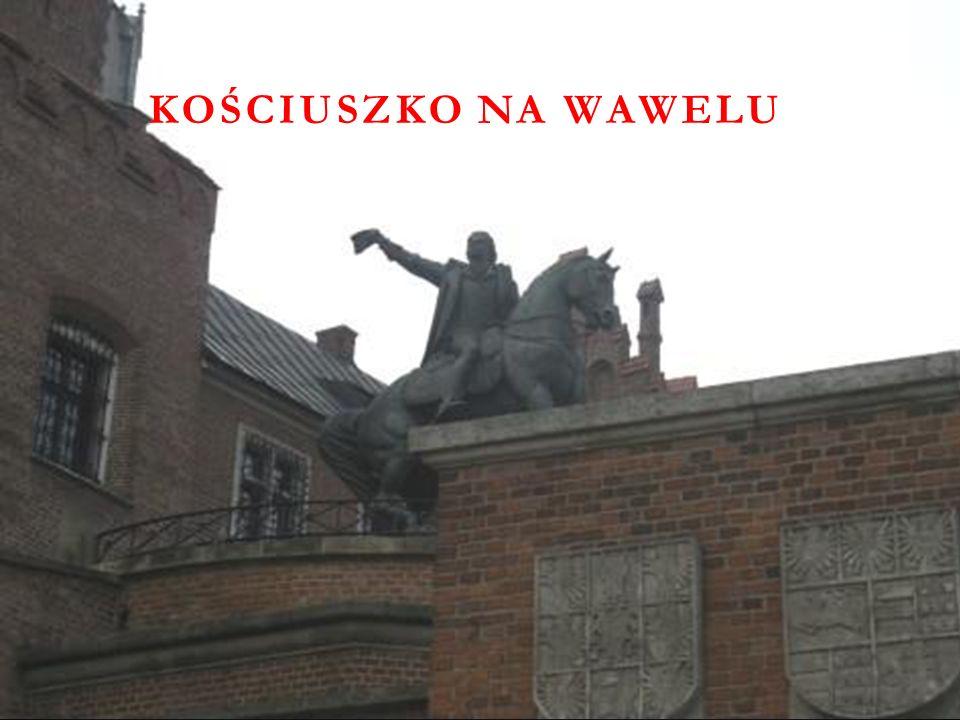 Kościuszko na Wawelu