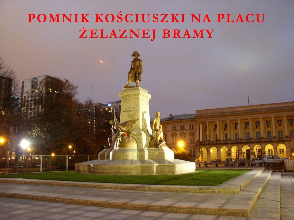 Pomnik Kościuszki na Placu Żelaznej Bramy