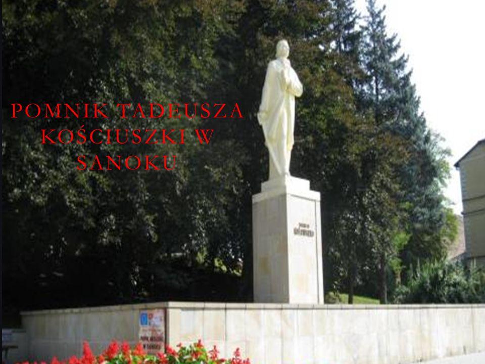 Pomnik Tadeusza Kościuszki w Sanoku