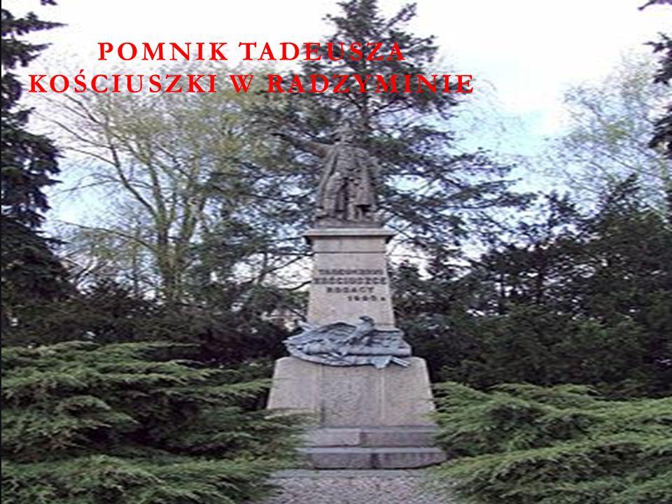Pomnik Tadeusza Kościuszki w Radzyminie