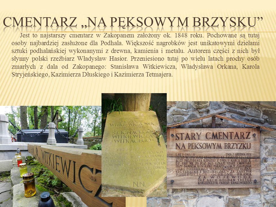 """Cmentarz """"Na Pęksowym Brzysku"""