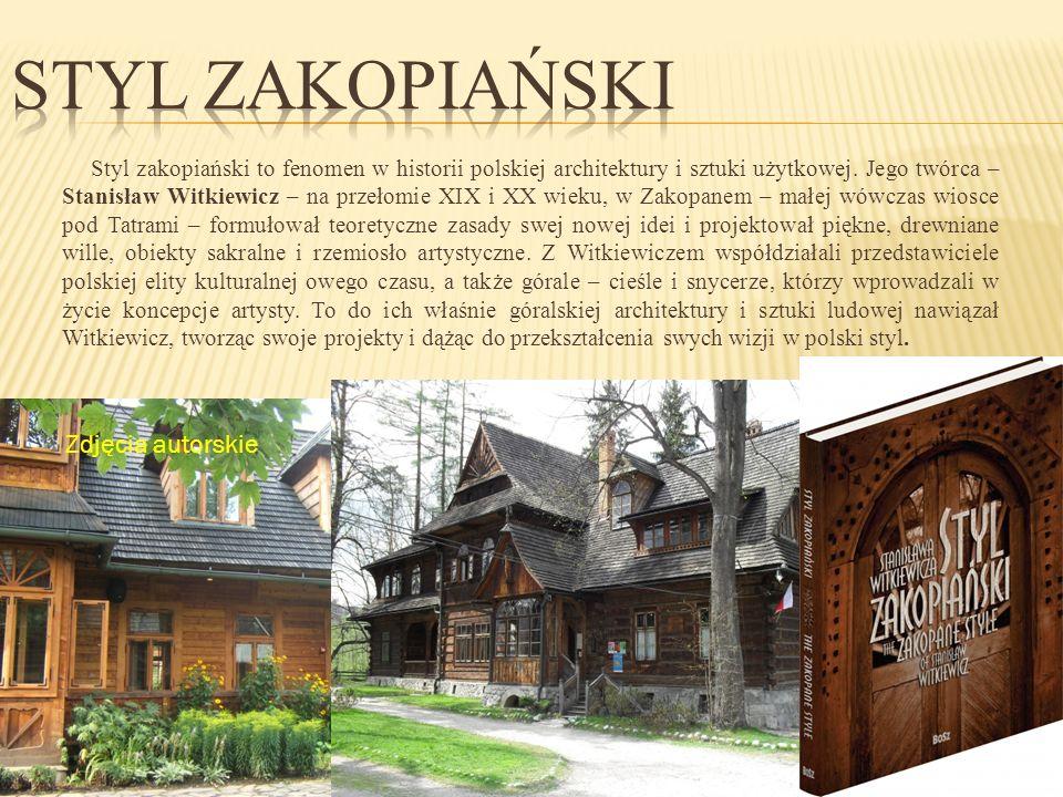 Styl Zakopiański Zdjęcia autorskie
