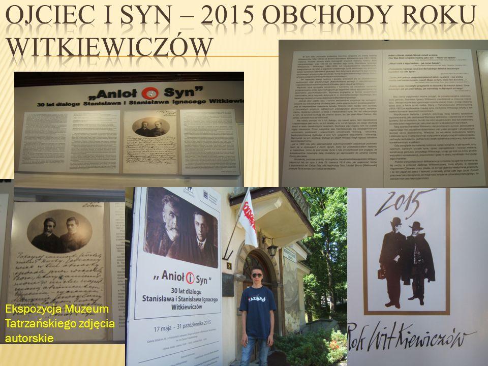 Ojciec i syn – 2015 obchody roku Witkiewiczów