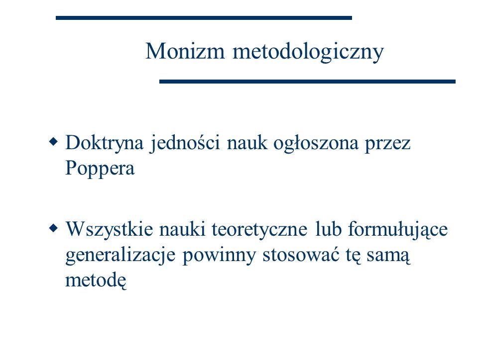 Monizm metodologiczny