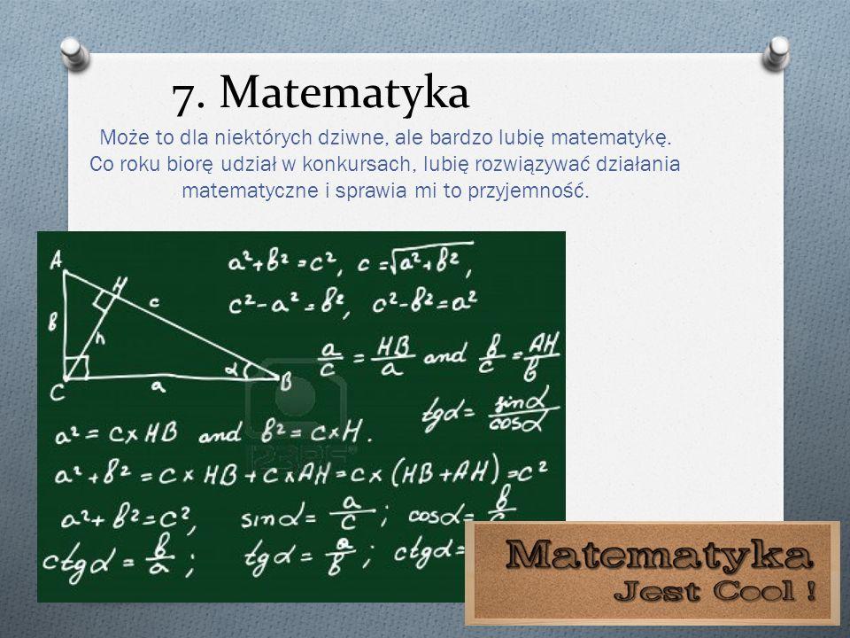 7. Matematyka