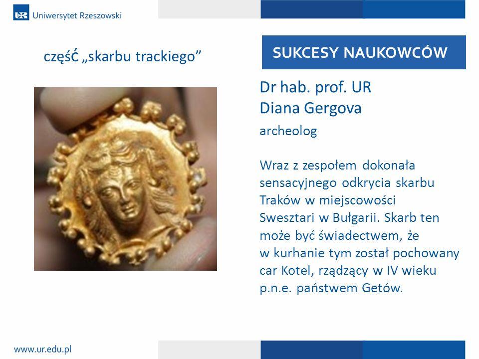 Dr hab. prof. UR Diana Gergova