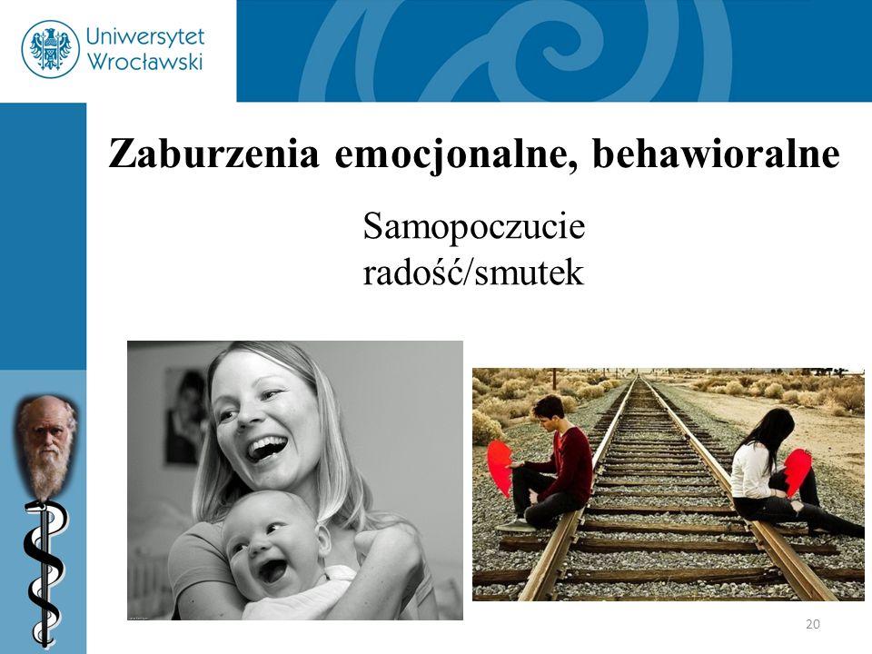 Zaburzenia emocjonalne, behawioralne