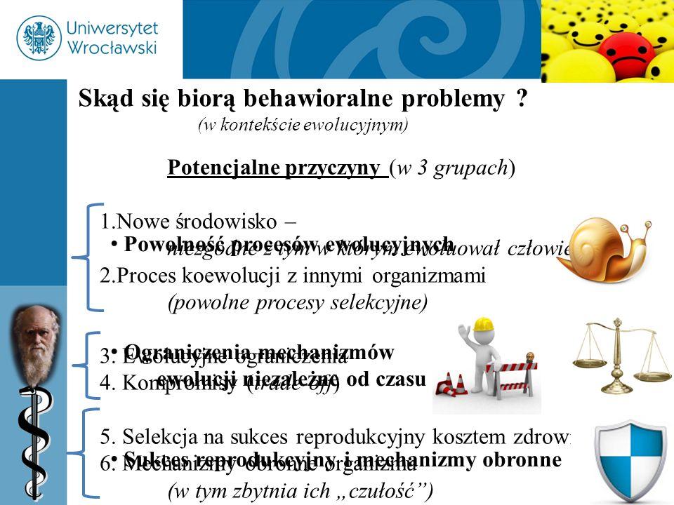 Skąd się biorą behawioralne problemy