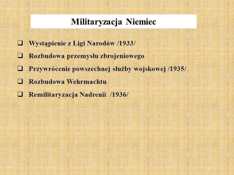 Militaryzacja Niemiec