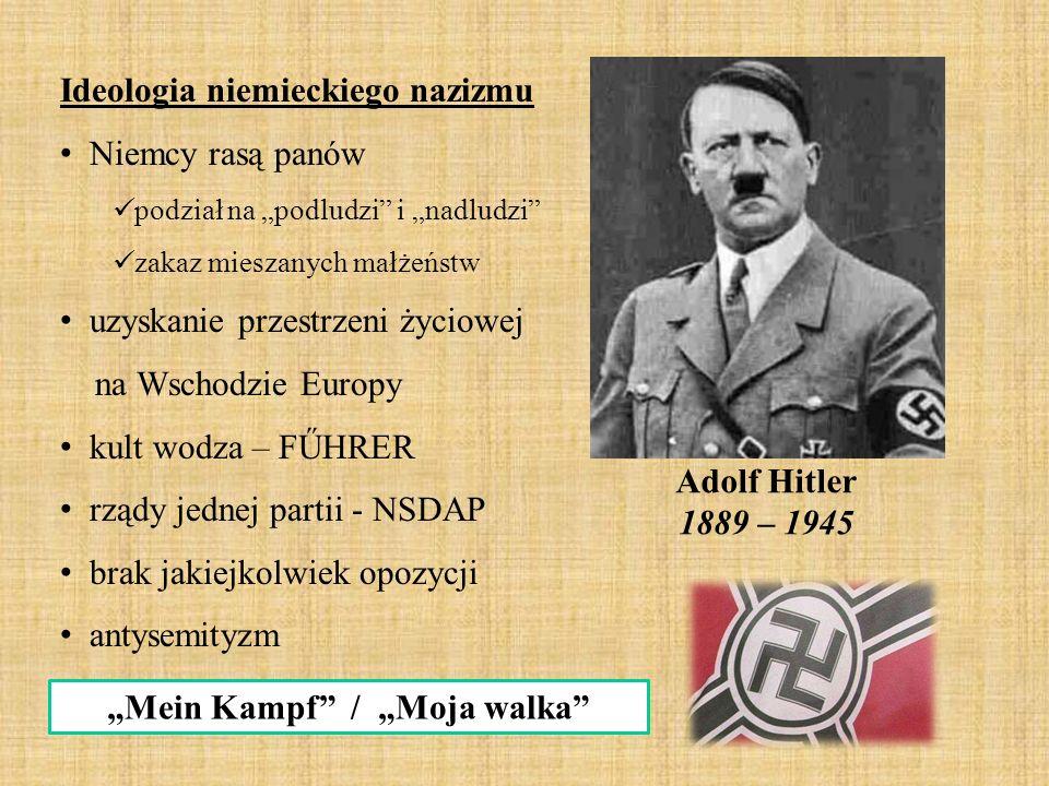 """Mein Kampf / ""Moja walka"