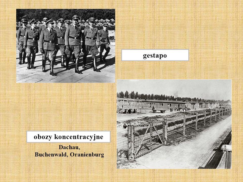 Buchenwald, Oranienburg