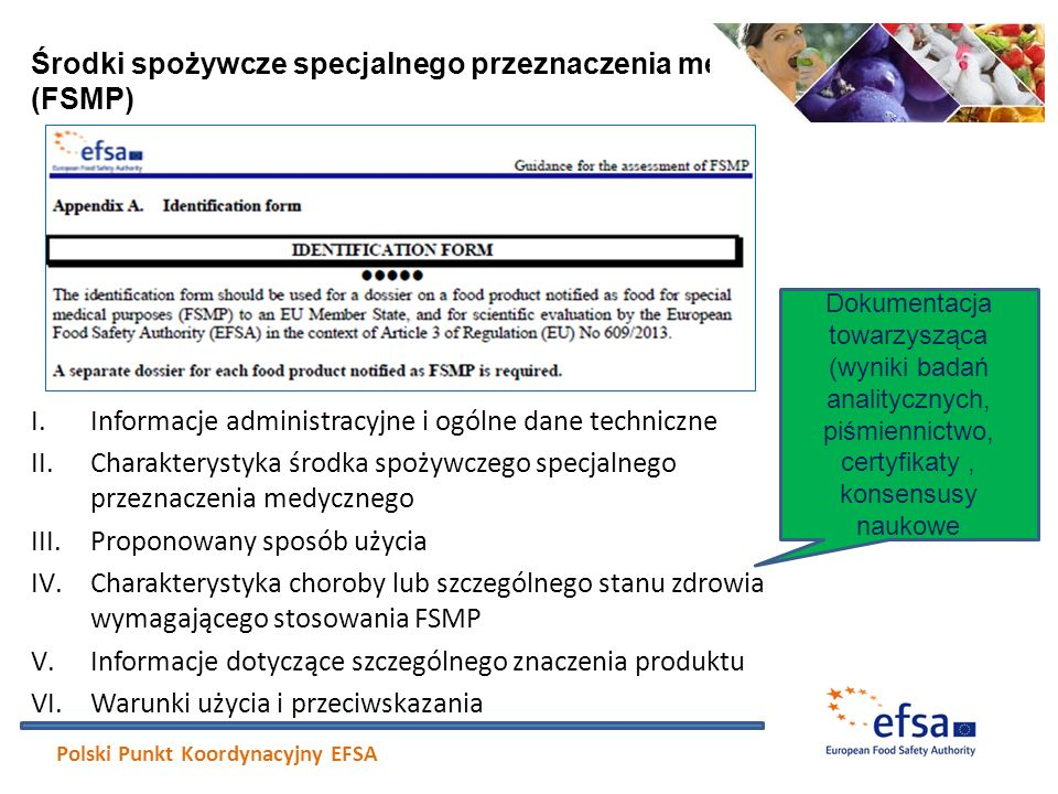 Środki spożywcze specjalnego przeznaczenia medycznego (FSMP)