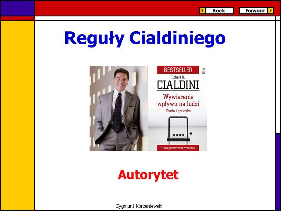 Reguły Cialdiniego Autorytet Zygmunt Korzeniewski