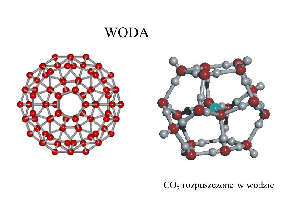 WODA CO2 rozpuszczone w wodzie