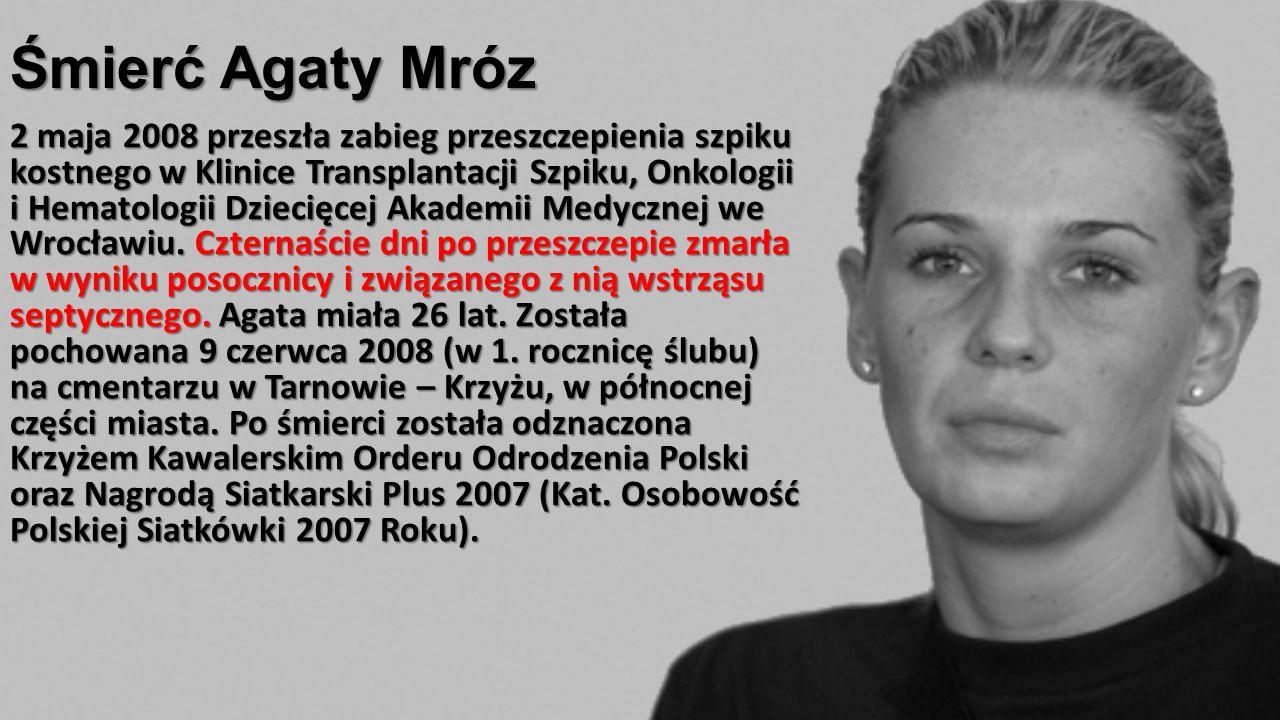 Śmierć Agaty Mróz