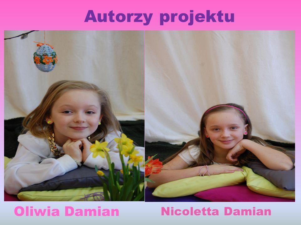 Autorzy projektu Oliwia Damian Nicoletta Damian