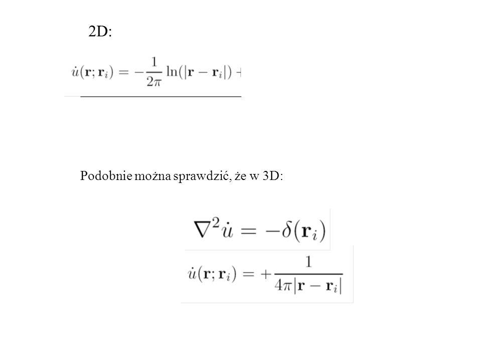 2D: Podobnie można sprawdzić, że w 3D:
