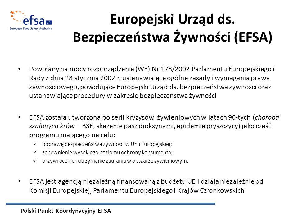 Europejski Urząd ds. Bezpieczeństwa Żywności (EFSA)