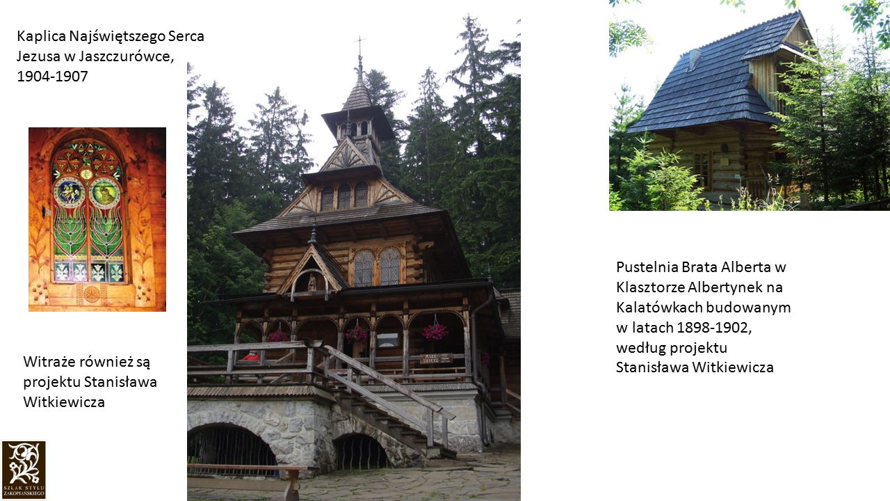 Kaplica Najświętszego Serca Jezusa w Jaszczurówce, 1904-1907