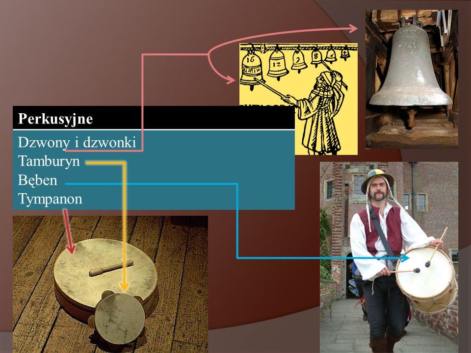 Perkusyjne Dzwony i dzwonki Tamburyn Bęben Tympanon