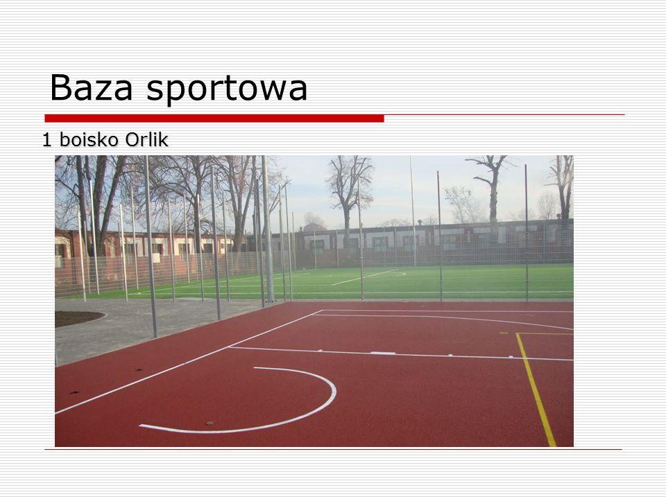 Baza sportowa 1 boisko Orlik 6