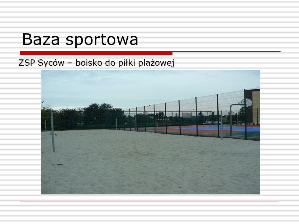 Baza sportowa ZSP Syców – boisko do piłki plażowej 7