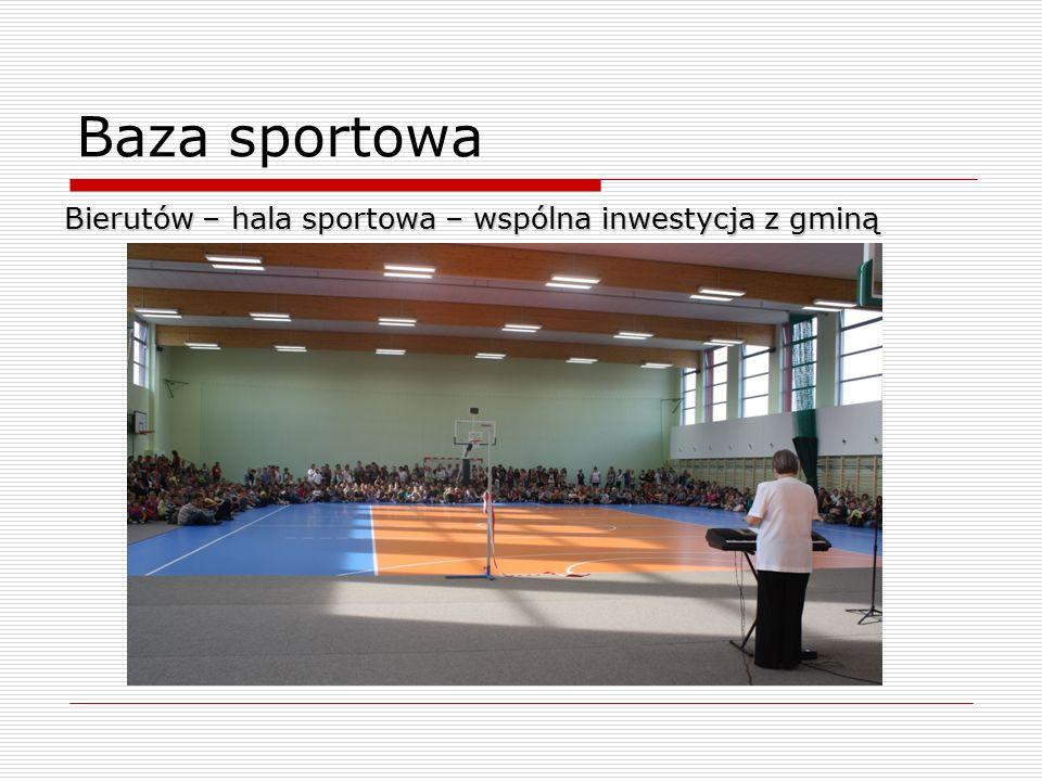 Baza sportowa Bierutów – hala sportowa – wspólna inwestycja z gminą 8