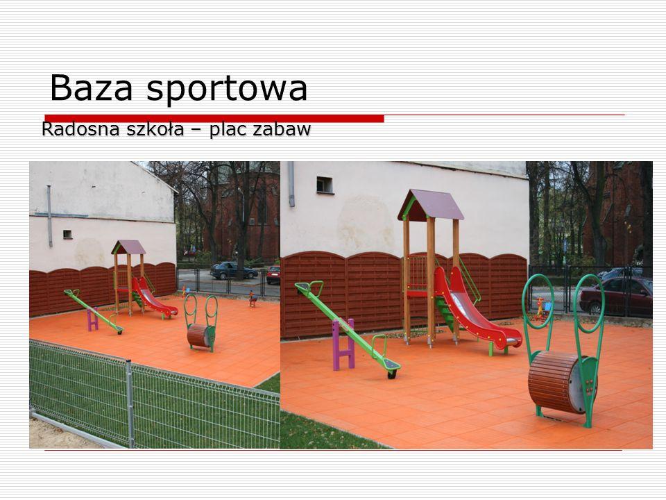 Baza sportowa Radosna szkoła – plac zabaw 9
