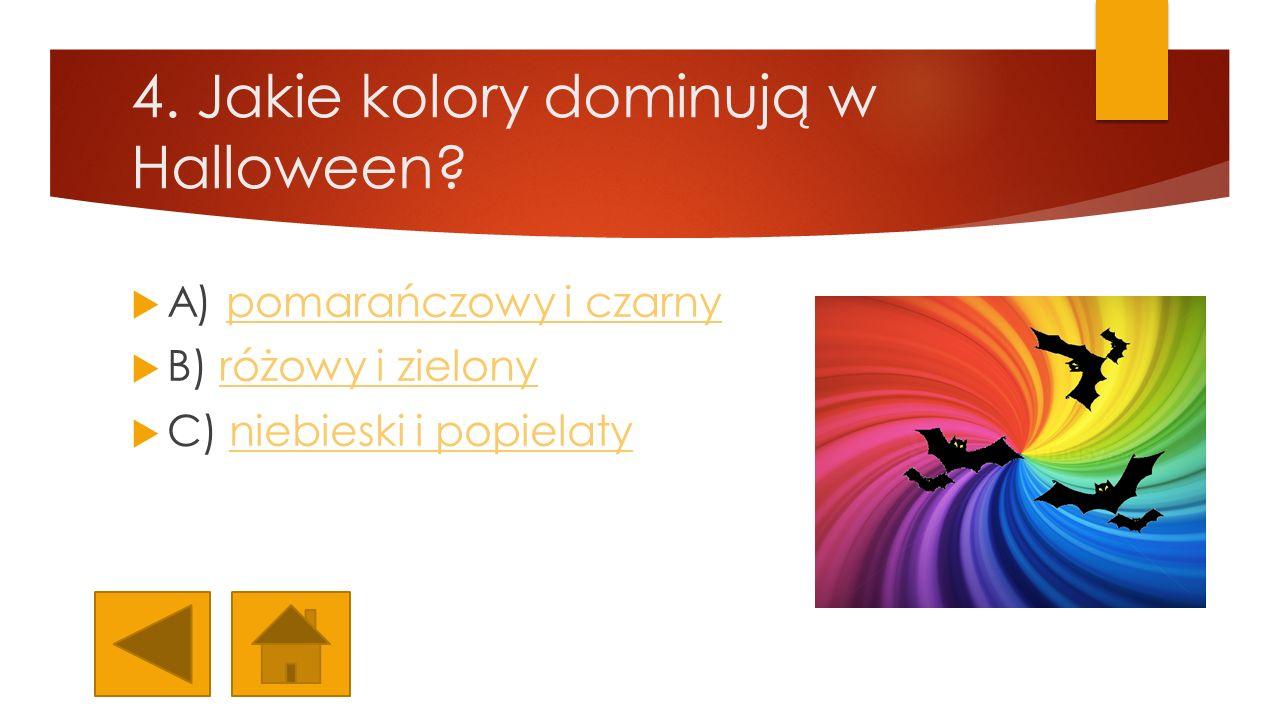 4. Jakie kolory dominują w Halloween