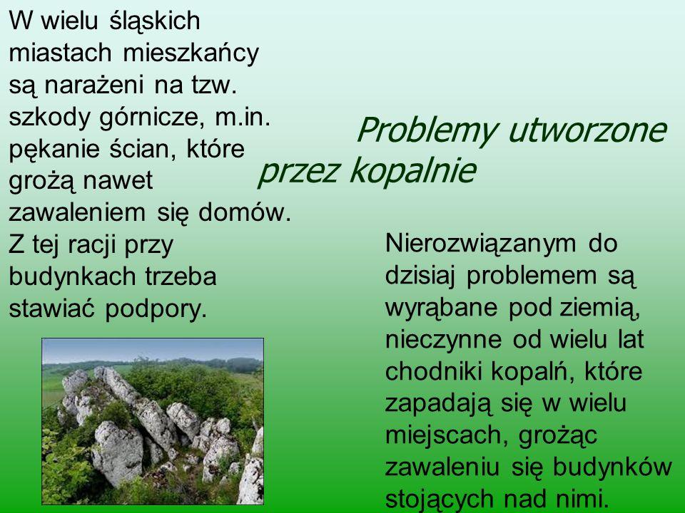 Problemy utworzone przez kopalnie