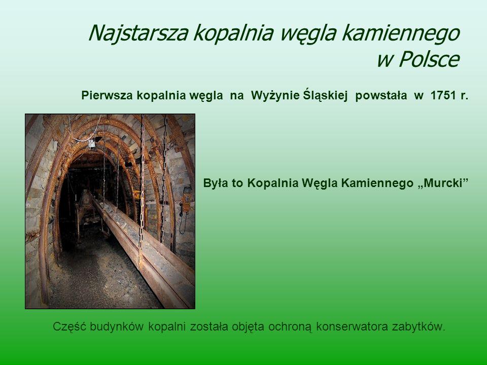 Najstarsza kopalnia węgla kamiennego w Polsce