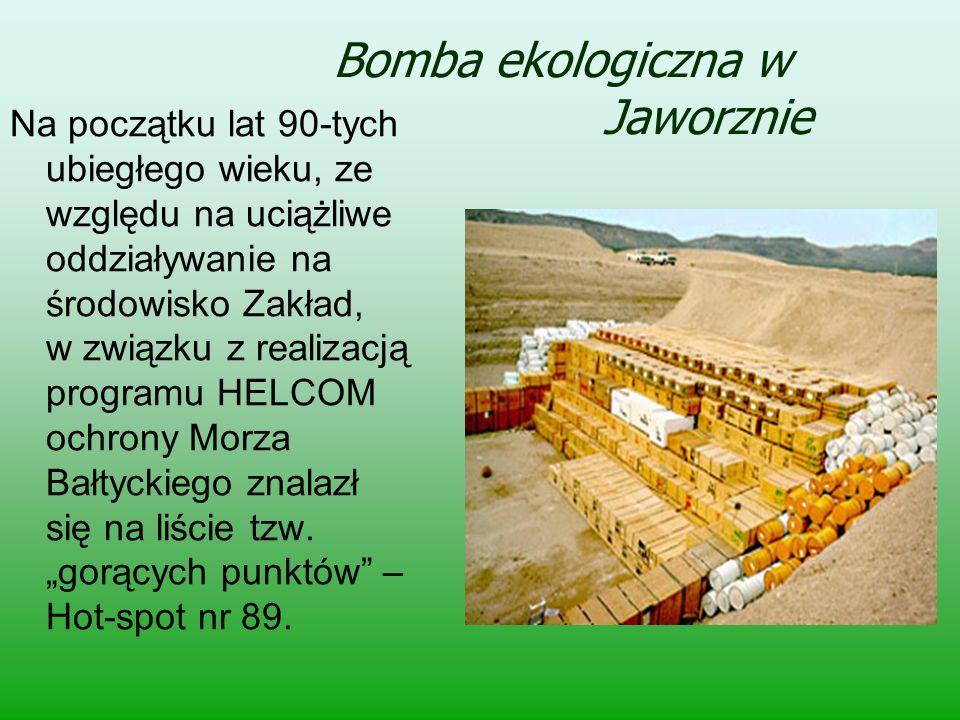 Bomba ekologiczna w Jaworznie