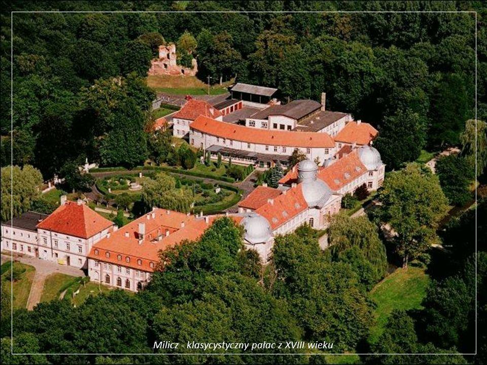 Milicz - klasycystyczny pałac z XVIII wieku