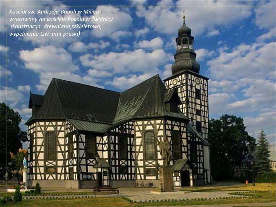 Kościół św. Andrzeja Boboli w Miliczu