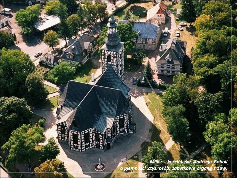 Milicz – kościół św. Andrzeja Boboli